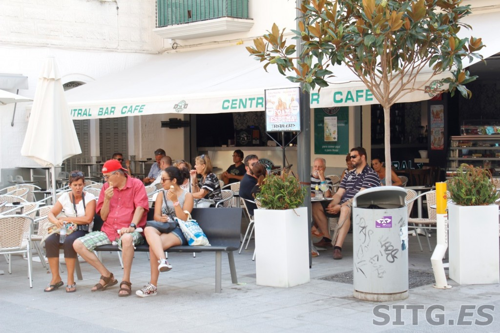 Central Bar Cafe Sitges