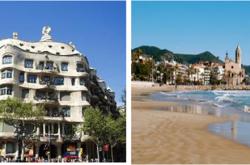 Yoga am Meer, Sitges und Barcelona