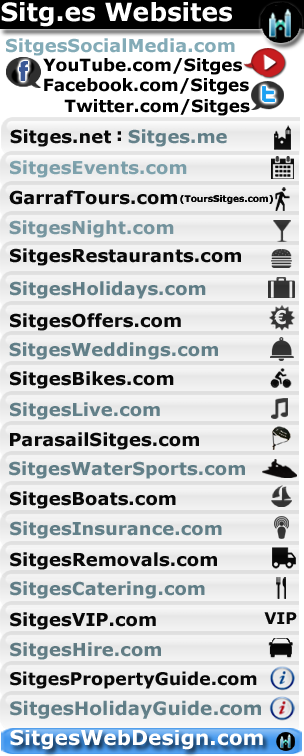 sitges websites